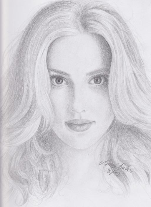 Scarlett Johansson par AnnaKatariina